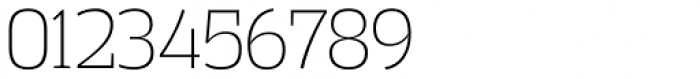 Vectipede ExtraLight Font OTHER CHARS