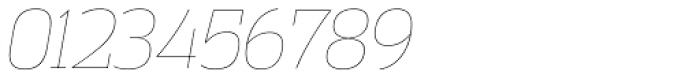 Vectipede UltraLight Italic Font OTHER CHARS