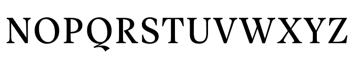 Vesterbro Variable Font UPPERCASE