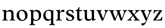 Vesterbro Variable Font LOWERCASE