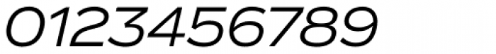 Vito Extended Italic Font OTHER CHARS