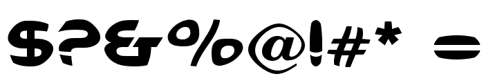 Voldemort Font OTHER CHARS