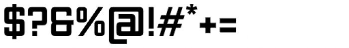 Vox Bold Font OTHER CHARS