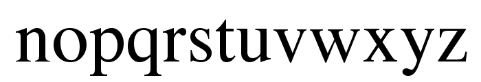VremyaFWF Font LOWERCASE