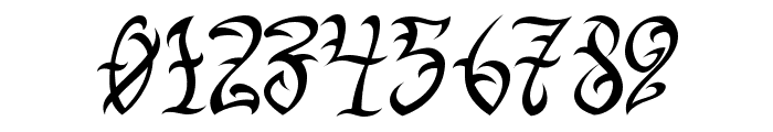 VTC-TribalThreeFree Font OTHER CHARS