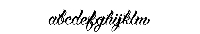 VTCTattooScriptTwo Font LOWERCASE
