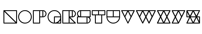 WAREHOUSE PROJECT Font UPPERCASE