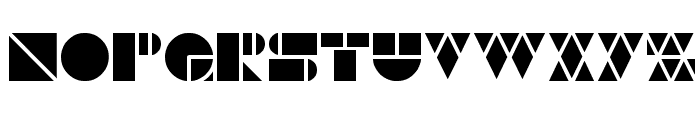 WAREHOUSE PROJECT Font LOWERCASE