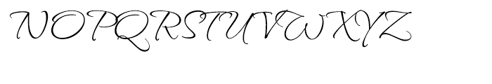 Waterfall Butterfly Font UPPERCASE