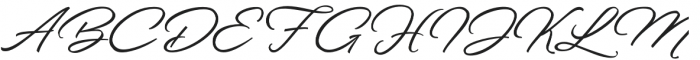 Welinedion Clear otf (400) Font UPPERCASE