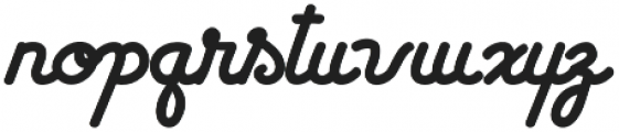 Westmore otf (400) Font LOWERCASE
