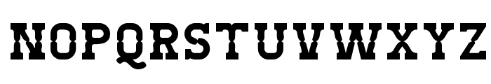 West Test Font LOWERCASE