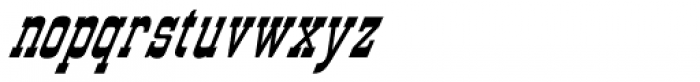 Western Sky Lariat Font LOWERCASE
