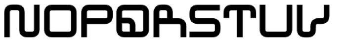 Westway Eastbound Font LOWERCASE