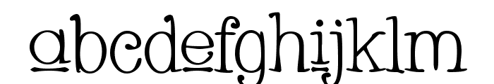 Whackadoo Upper Font LOWERCASE