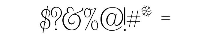 What I Want For Christmas Font OTHER CHARS