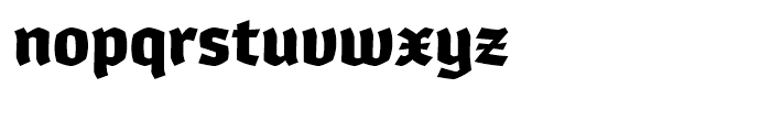 Whisky 1780 Font LOWERCASE