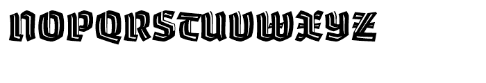 Whisky 1890 Inline Font UPPERCASE