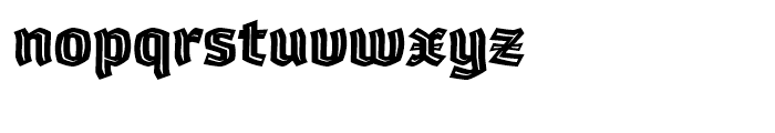 Whisky 1890 Inline Font LOWERCASE
