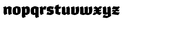 Whisky 1890 Font LOWERCASE