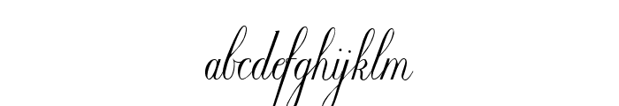 Willegha [Unregistered] Font LOWERCASE