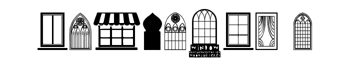 Window Font OTHER CHARS