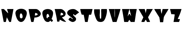 WinksFilled Font LOWERCASE