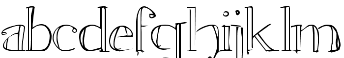 Witchcraft Normal Font LOWERCASE