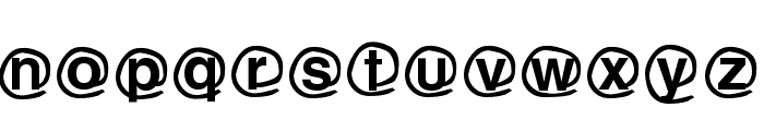 WLM Mailing service Font LOWERCASE