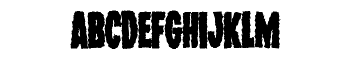 Wolf Brothers Bold Font LOWERCASE