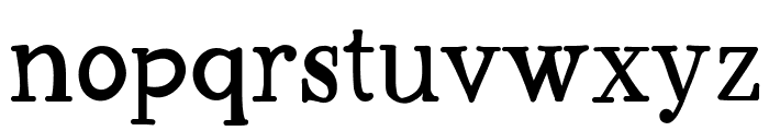 Workaholic Font LOWERCASE