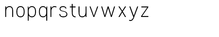 Woolworth Light Font LOWERCASE