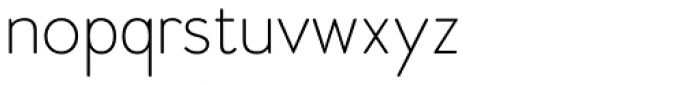 Woodford Bourne Hairline Font LOWERCASE
