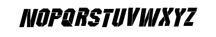 Wreckers Italic Font LOWERCASE