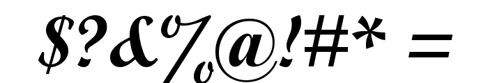 Wrexham Script Font OTHER CHARS
