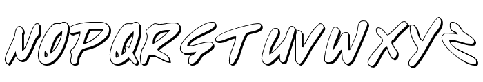 Write Off Oultine Font LOWERCASE