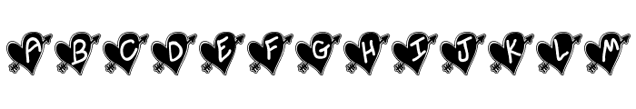 Written In My Heart College Updated Font UPPERCASE