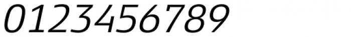 Xenois Slab Italic Font OTHER CHARS