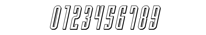 Y-Files 3D Italic Font OTHER CHARS