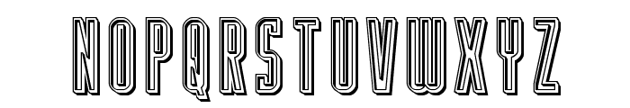 Y-Files Engraved Font LOWERCASE