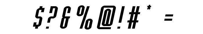 Y-Files Expanded Italic Font OTHER CHARS