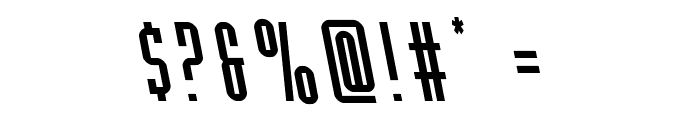 Y-Files Leftalic Font OTHER CHARS