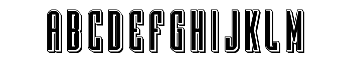 Y-Files Punch Font LOWERCASE