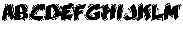 YellaBelly Font UPPERCASE