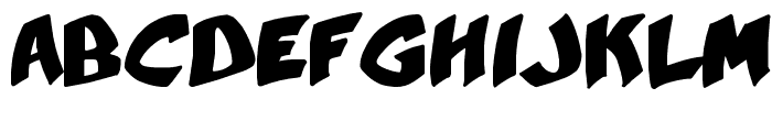 YellaBelly Font LOWERCASE