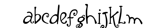 Yippy Alt Font LOWERCASE