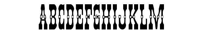 Younger Brothers Font UPPERCASE