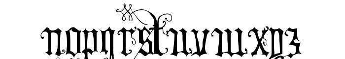 Your Royal Majesty Font LOWERCASE