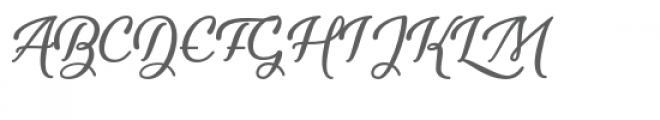 Youth-and-Beauty Font UPPERCASE