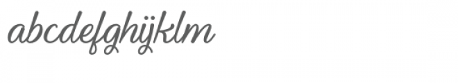 Youth-and-Beauty Font LOWERCASE